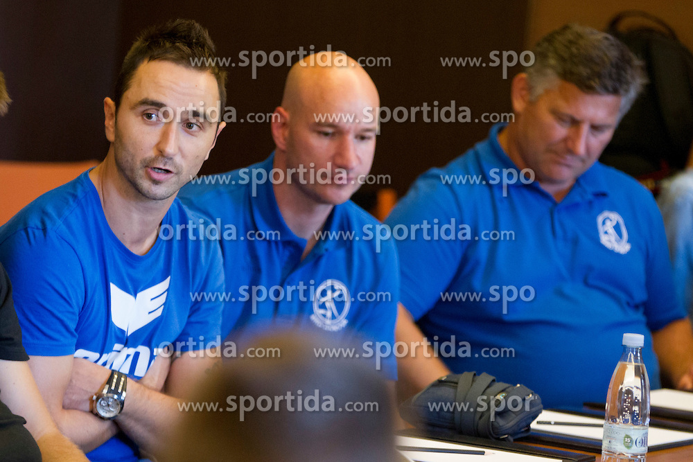during press conference before 1. NLB League 2015/16, on August 29, 2015 in Kempinski Hotel, Portoroz / Portorose, Slovenia. Photo by Urban Urbanc / Sportida
