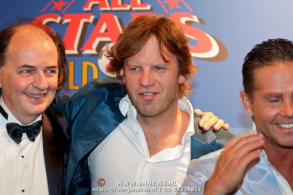 NLD/Amsterdam/20111010 - Premiere All Stars 2, , jean van der Velden, Peter Paul Muller en Danny de Munk