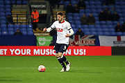 Dorian Dervite during the The FA Cup Third Round Replay match between Bolton Wanderers and Eastleigh at the Macron Stadium, Bolton, England on 19 January 2016. Photo by Pete Burns.