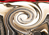 abstract light reflections fluid vortex and brown smooth shades