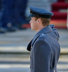 Prince William, Duke of Cambridge during the annual Remembrance Sunday Service at the Cenotaph, Whitehall, London, England. Sunday, 10th November 2013. Picture by Nils Jorgensen / i-Images