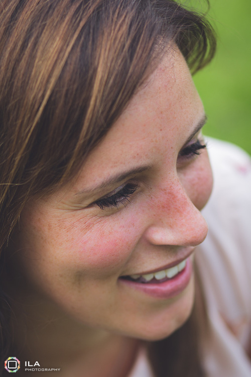 close up of a beautiful woman | Cheadle family photographer