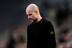 Manchester City manager Pep Guardiola arrives at Rodney Parade prior to kick off - Mandatory by-line: Ryan Hiscott/JMP - 16/02/2019 - FOOTBALL - Rodney Parade - Newport, Wales - Newport County v Manchester City - Emirates FA Cup fifth round proper