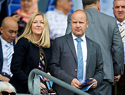 CARDIFF, WALES - Sunday, September 2, 2018: Football Association of Wales Chief-Executive Jonathan Ford before the FA Premier League match between Cardiff City FC and Arsenal FC at the Cardiff City Stadium. (Pic by David Rawcliffe/Propaganda)