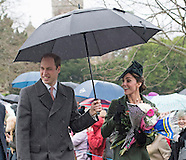 Royals Attend Christmas Service, Sandringham 2015