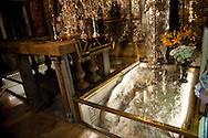 Church of the Holy Sepulcher (Jerusalem): Christianity's holiest place, this church covers the traditional sites of the crucifixion, entombment, and resurrection of Jesus. Built about A.D. 330, the complex is carefully divided among the Greek Orthodox, Roman Catholic, Armenian Orthodox, Coptic, Syrian, and Ethiopian churches.