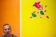 Hans-Joachim Weckert - Rentner aus München in einem Aufenhaltsraum im Pflegeheim in Pilsen, Tschechische Republik.