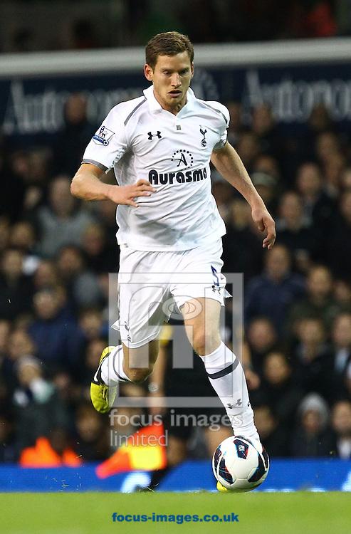 Picture by John  Rainford/Focus Images Ltd +44 7506 538356.23/09/2012.Jan Vertonghen of Tottenham Hotspur during the Barclays Premier League match at White Hart Lane, London.