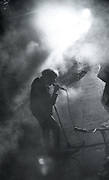 Jesus & Mary Chain performing at Free Trade Hall, Manchester, 1980s