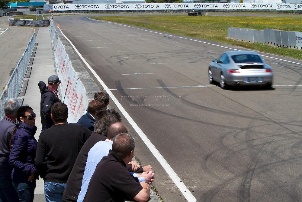 Armstrong Prestige Porsche Training Day 2011, Manfield Raceway, Feilding, New Zealand