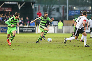 Forest Green Rovers Rob Sinclair(19) runs forward during the Vanarama National League match between Bromley FC and Forest Green Rovers at Hayes Lane, Bromley, United Kingdom on 7 January 2017. Photo by Shane Healey.
