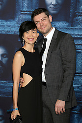 Jenny Del Rosario, Patrick Fugit at the Game of Thrones Season 6 Premiere Screening at the TCL Chinese Theater IMAX on April 10, 2016 in Los Angeles, CA. EXPA Pictures © 2016, PhotoCredit: EXPA/ Photoshot/ Kerry Wayne<br /> <br /> *****ATTENTION - for AUT, SLO, CRO, SRB, BIH, MAZ, SUI only*****