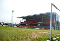 Blundell Park, Grimsby - Photo mandatory by-line: Neil Brookman/JMP - Mobile: 07966 386802 - 14/02/2015 - SPORT - Football - Cleethorpes - Blundell Park - Grimsby Town v Bristol Rovers - Vanarama Football Conference