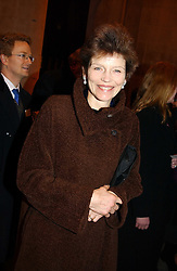 The COUNTESS OF HALIFAX at the annual House of Lords & House of Commons Parliamentary Palace of Varieties at St.John's Smith Square, London on 27th January 2005.<br /><br />NON EXCLUSIVE - WORLD RIGHTS