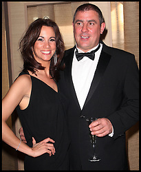 Lose Women TV Presenter Andrea McLean and her husband Steve during the P&O Crusies launch for the ship Azura in Southampton, April 2010. The presenter has recenty split from her husband steve. Photo By i-Images