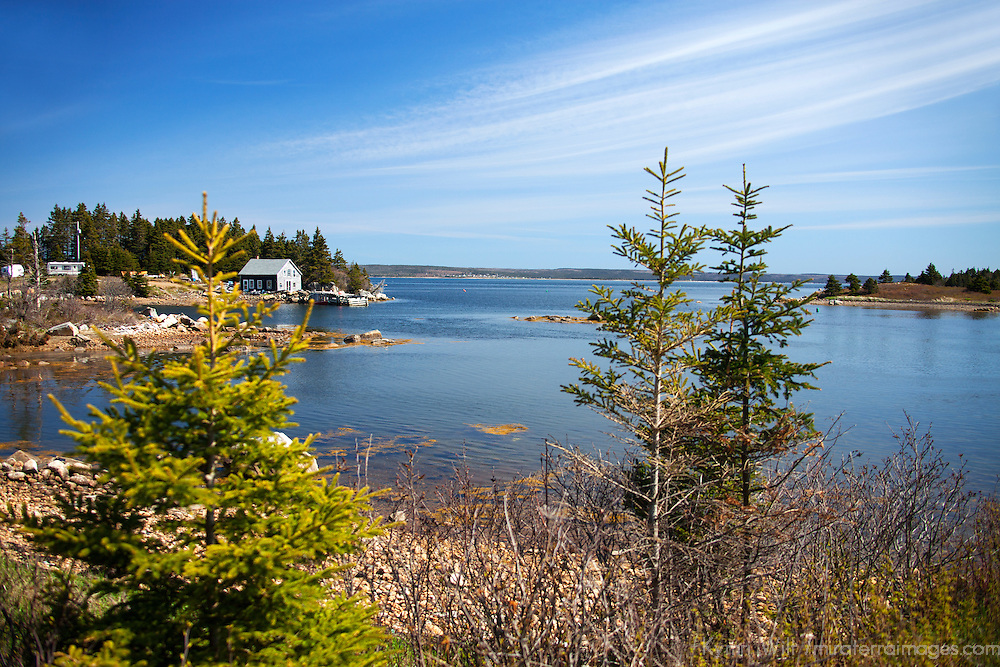North America, Canada, Nova Scotia, Guysborough County. Scenic landscape of Little Harbour, Guysborough County.