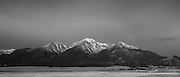 Mount Princeton, Buena Vista, Colorado. At 14,204 feet, Colorado's 20th highest peak creates the skyline for this section of the Arkansas River Valley.