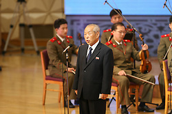 60243570  <br /> Choe Yong-rim, honorary vice president of presidium of supreme people s assembly of the Democratic People s Republic of Korea (DPRK), addresses the celebrating ceremony to mark the 60th anniversary of the Korean War Armistice Agreement in Pyongyang, DPRK, <br /> Pyongyang, North Korea, <br /> Monday, July 29, 2013. <br /> Picture by imago / i-Images<br /> UK ONLY