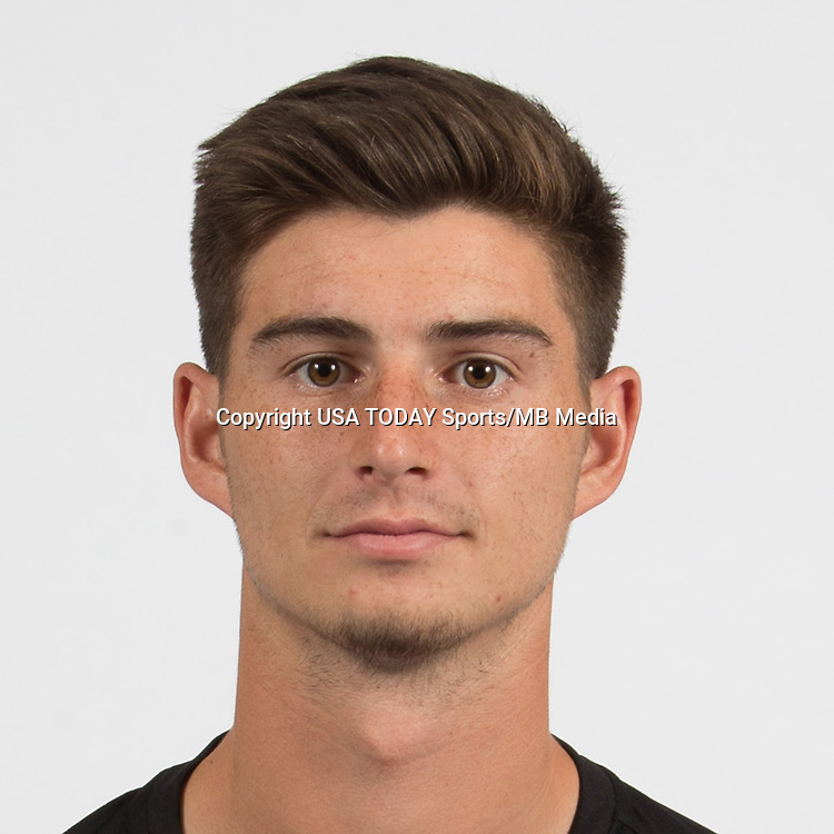 Feb 25, 2017; USA; DC United player Ian Harkes poses for a photo. Mandatory Credit: USA TODAY Sports