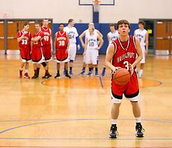 January 25, 2012: High School Boys Basketball Bridgeport vs. Lewis County. Mandatory Credit: Ben Queen
