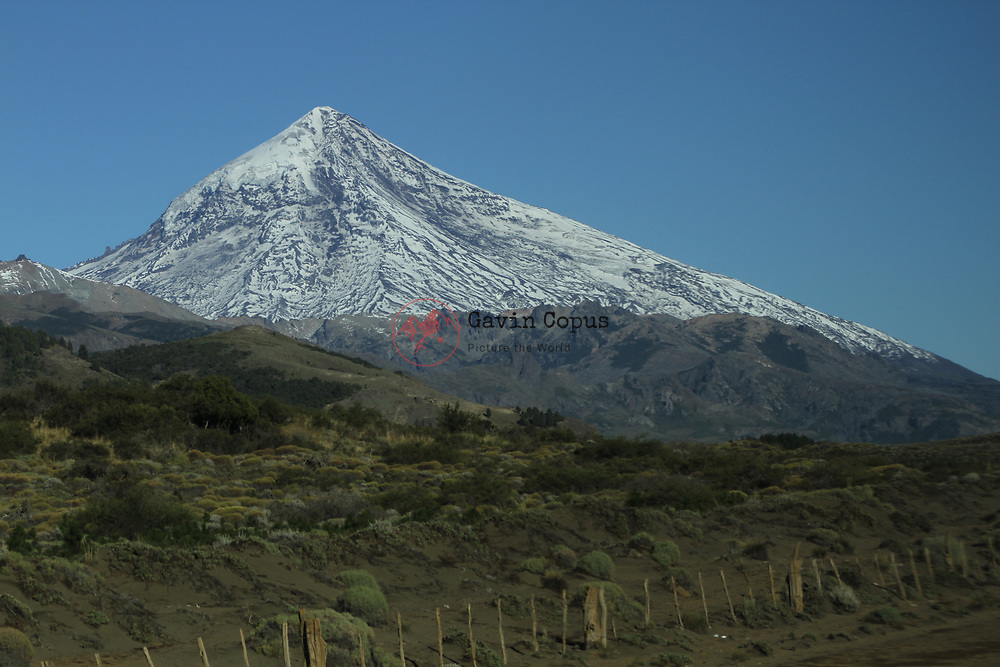 Volcano, Lanin, Chile, Patagonia
