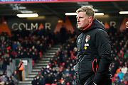 AFC Bournemouth manager Eddie Howe during the Premier League match between Bournemouth and West Bromwich Albion at the Vitality Stadium, Bournemouth, England on 17 March 2018. Picture by Graham Hunt.