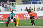 Danni Wyatt of Southern Vipers batting during the Women's Cricket Super League match between Southern Vipers and Surrey Stars at the 1st Central County Ground, Hove, United Kingdom on 14 August 2018.