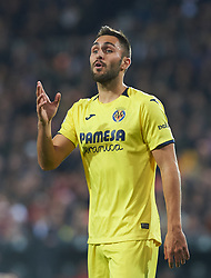 January 26, 2019 - Valencia, Valencia, Spain - Victor Ruiz of Villarreal CF during the La Liga Santander match between Valencia and Villarreal at Mestalla Stadium on Jenuary 26, 2019 in Valencia, Spain. (Credit Image: © Maria Jose Segovia/NurPhoto via ZUMA Press)