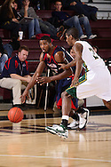 Oklahoma Baptist Men's BBall vs Rogers State.SAC Tournament, Quarterfinals.March 6, 2008