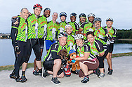 Team Flying Goats is ready to ride from Boston to New York on Braking AIDS Ride to benefit Housing Works.