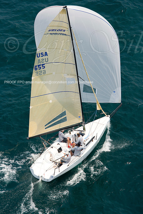 Lightwave, Melges 24 655, at The Newport Regatta