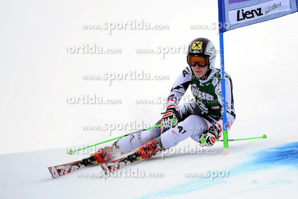 28.12.2013, Hochstein, Lienz, AUT, FIS Weltcup Ski Alpin, Lienz, Riesentorlauf, Damen, 1. Durchgang, im Bild Kathrin Zettel (AUT) // Kathrin Zettel (AUT) during the 1st run of ladies giant slalom Lienz FIS Ski Alpine World Cup at Hochstein in Lienz, Austria on 2013/12/28. EXPA Pictures © 2013, PhotoCredit: EXPA/ Erich Spiess