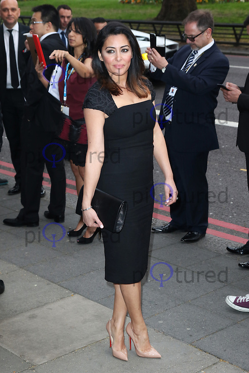 Laila Rouass, The Asian Awards, Grosvenor House Hotel, London UK, 17 April 2015, Photo by Richard Goldschmidt