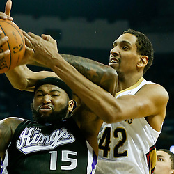 01-21-2014 Sacramento Kings at New Orleans Pelicans