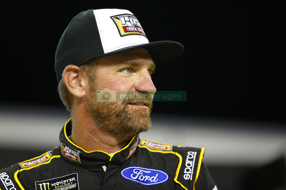 November 16, 2018 - Homestead, Florida, U.S. - Clint Bowyer (14) hangs out on pit road before qualifying for the Ford 400 at Homestead-Miami Speedway in Homestead, Florida. (Credit Image: © Chris Owens Asp Inc/ASP)