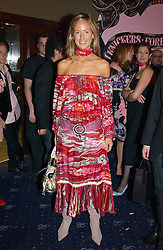 LADY VICTORIA HERVEY at a party and fashion show by Agent Provocateur at the Cafe de Paris, Coventry Street, London W1 on 14th February 2005.<br />