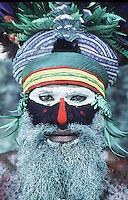 Tribe in Papua New Guinea.