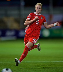 NEWPORT, WALES - Tuesday, September 3, 2019: Wales' Rhiannon Roberts during the UEFA Women Euro 2021 Qualifying Group C match between Wales and Northern Ireland at Rodney Parade. (Pic by David Rawcliffe/Propaganda)