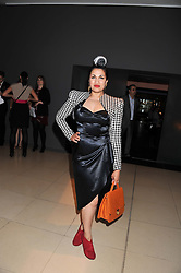 BISHI BHATTACHARYA at an after party following the first night of Dr Dee: An English Opera,  an opera created by theatre director Rufus Norris and musician and composer Damon Albarn held at St.Martin's Lane Hotel, St.Martin's Lane, London on 25th June 2012.