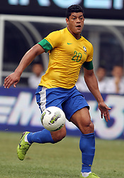 JUNE 09 2012:   Hulk (20) of Brazil during an international friendly match against Argentina at Metlife Stadium in East Rutherford,New Jersey. Argentina won 4-3.