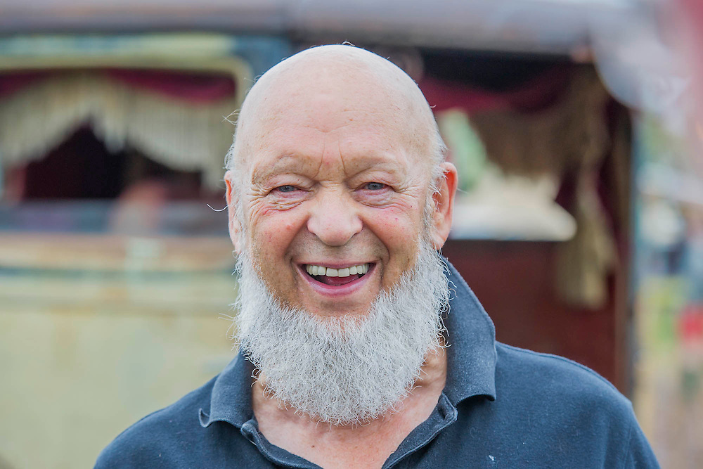 Michael Eavis. The 2015 Glastonbury Festival, Worthy Farm, Glastonbury.