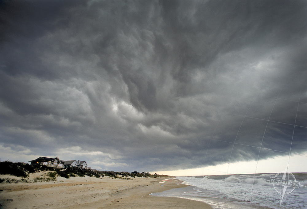 Storm Over Beach Community
