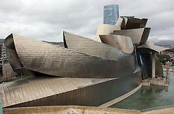 Guggenheim Museum, Bilbao, Spain. August 2012 Photo by: Stephen Lock / i-Images