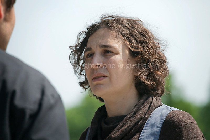 Nathalie AFFERRI, tournage scène imposée de Jacques TOULEMONDE - emergence 2011