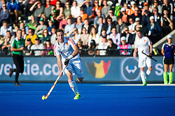 England's Iain Lewers. England v Netherlands  - Unibet EuroHockey Championships, Lee Valley Hockey & Tennis Centre, London, UK on 23 August 2015. Photo: Simon Parker
