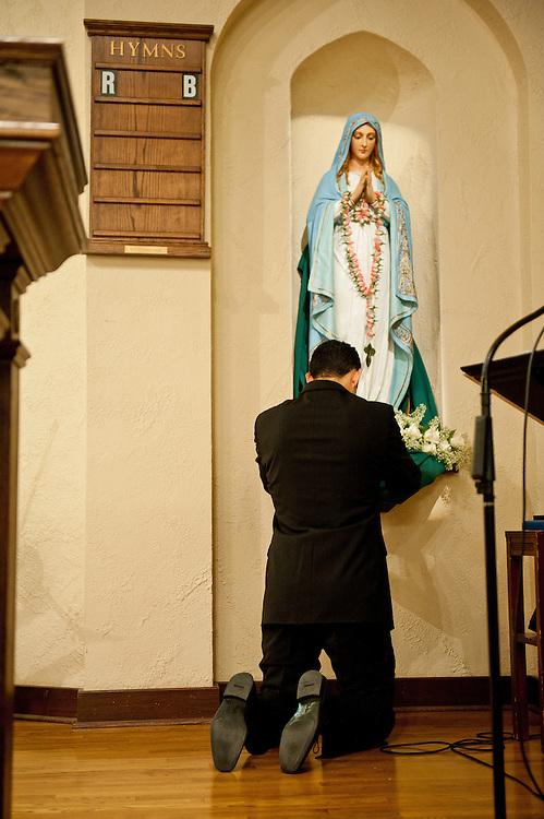 10/9/11 5:47:55 PM -- Zarines Negron and Abelardo Mendez III wedding Sunday, October 9, 2011. Photo©Mark Sobhani Photography