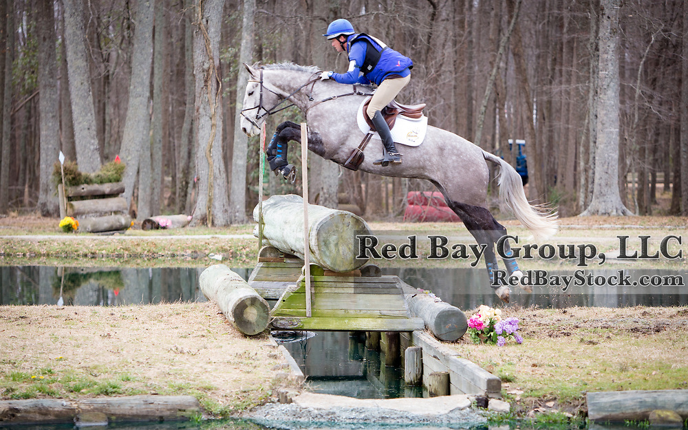Will Faudree (USA) and PFun at the 2014 Pine Top Spring Advanced Horse Trials in Thomson, Georgia.