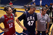 during the 2012 USA Women's Basketball team practice at Bender Arena  in Washington, DC.  July 15, 2012  (Photo by Mark W. Sutton)