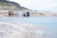 Corrugated iron shed, Patreksfjörður, Iceland