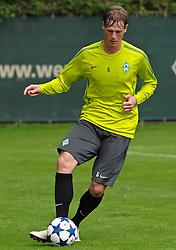 13.09.2010, Platz 11, Bremen, GER, UEFA CL Werder Bremen - Training, im Bild Tim Borowski (Bremen #6)   EXPA Pictures © 2010, PhotoCredit: EXPA/ nph/  Frisch+++++ ATTENTION - OUT OF GER +++++